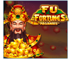 machine a sous Fu Fortunes Megaways logiciel iSoftBet