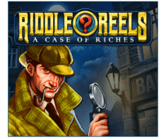 machine a sous Riddles Reels - A Case of Riches logiciel Play'n Go
