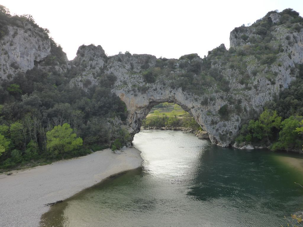 LE PONT D'ARC LE 15 AVRIL 2016