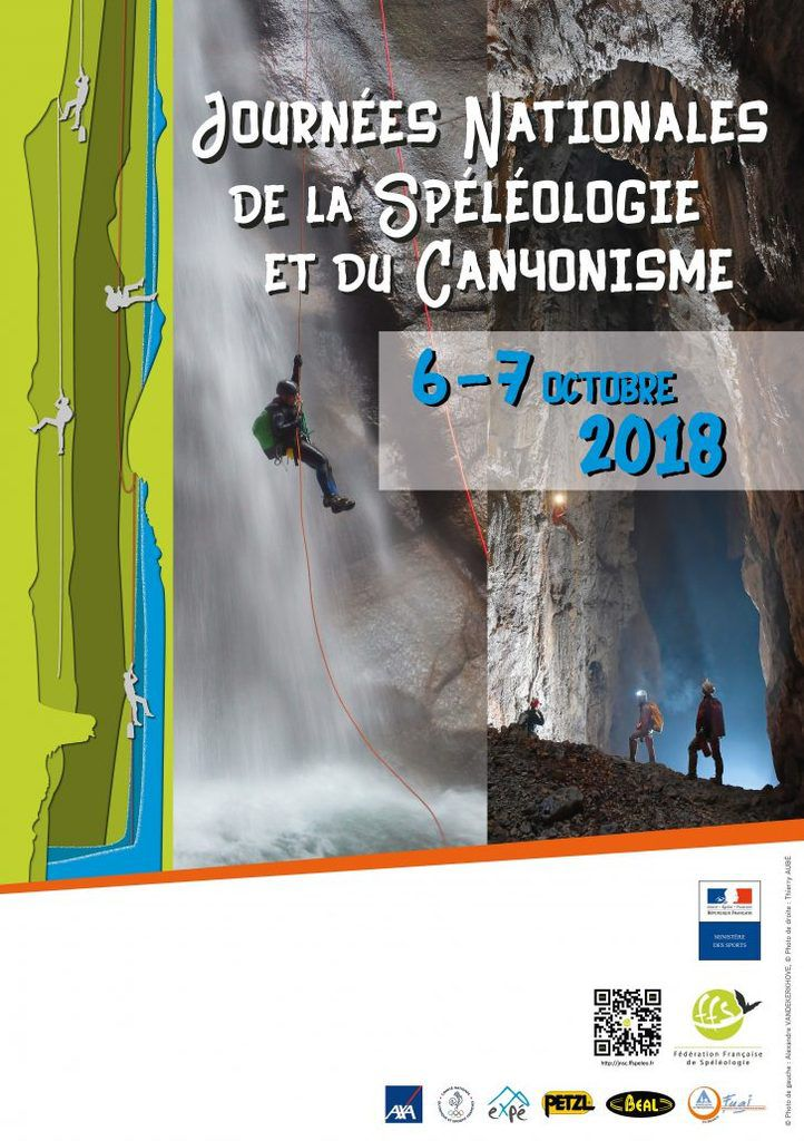 LES GARRI PARTICIPENT AUX JOURNEES NATIONALES SPELEO CANYON