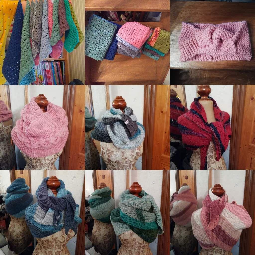 Année 2018 au crochet et tricot