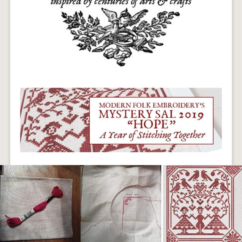"SAL Mystery 2019 ""Hope"" #1/12"