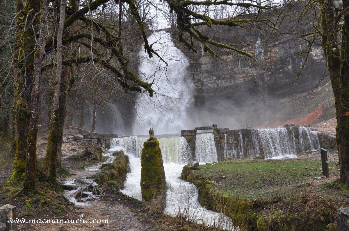 "La cascade du ""Saut Girard"" le 30 mars 2015"