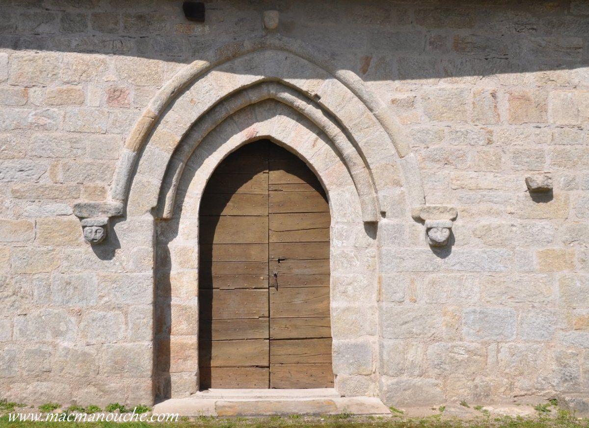 Porte de l'église.