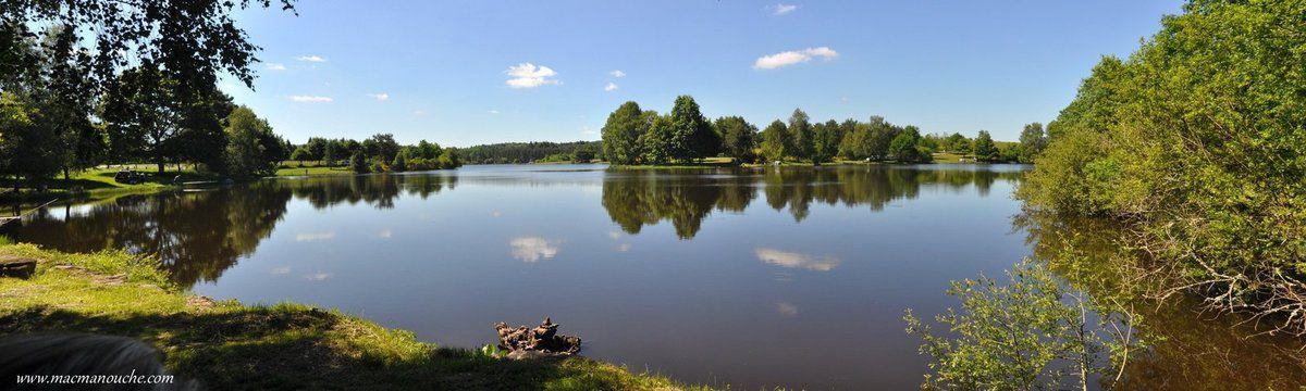 Notre balade le long de l'étang de Farges se termine