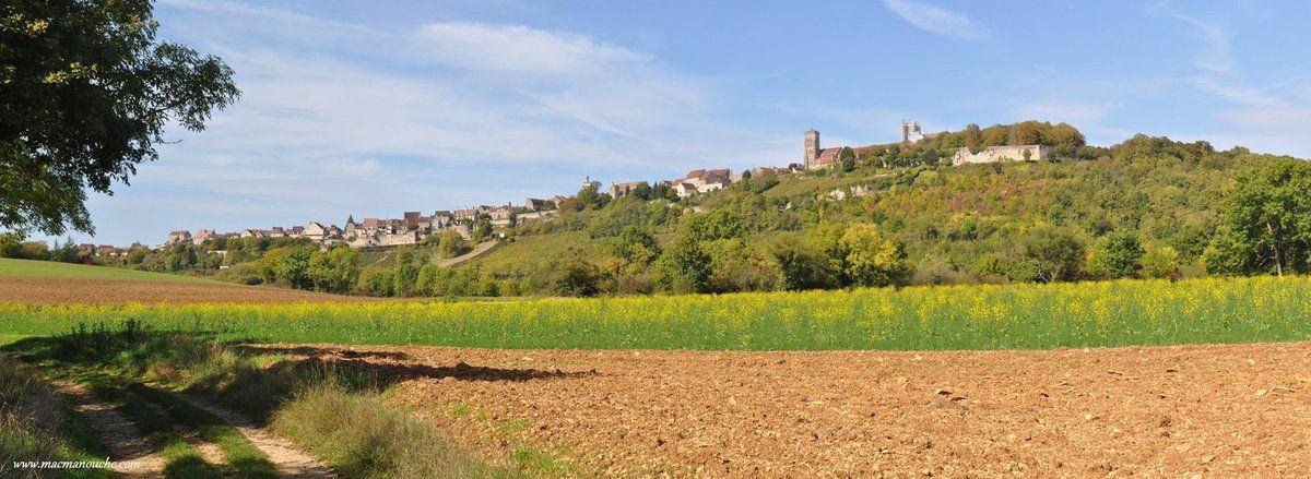 Vézelay: un village sur la colline!
