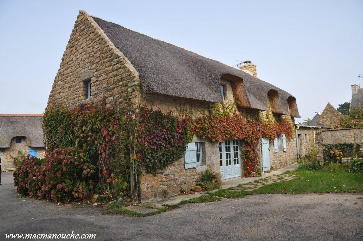 Alors, direction Kérascoët et ses maisons typiques.