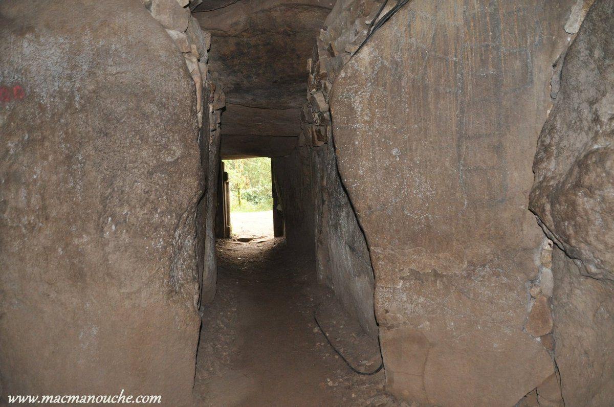 Le même couloir vu de l'intérieur.