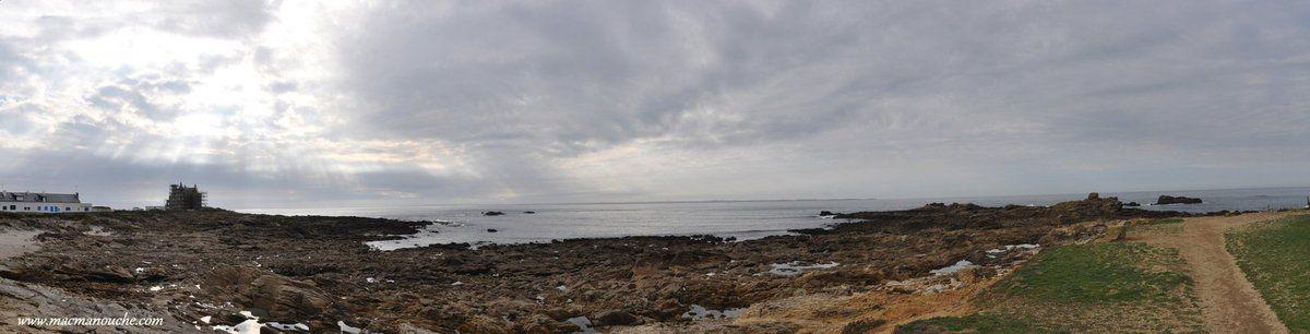 Panorama de la pointe  de Beg er Lann.