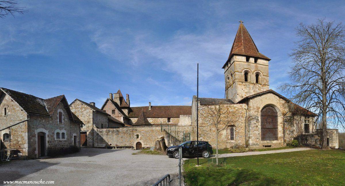 L'arrière de l'église.