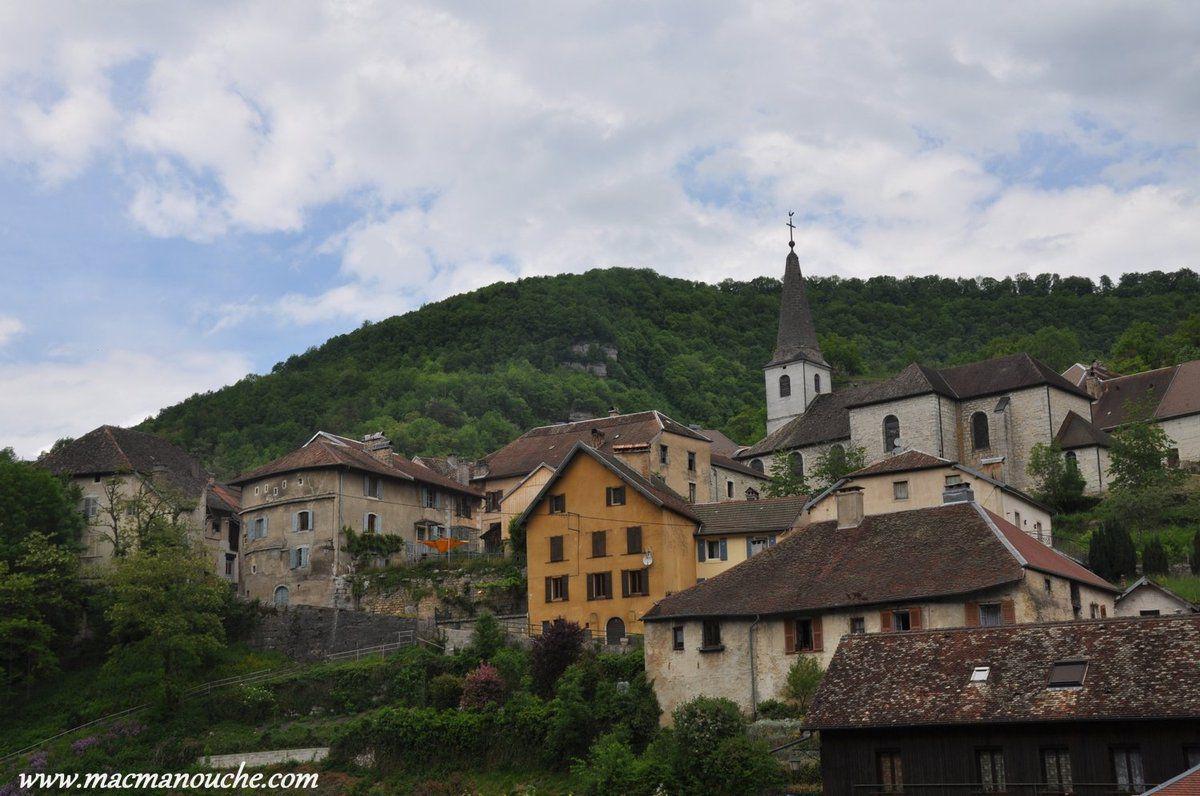 Le village haut .