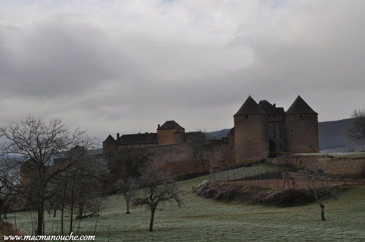 Le château sous la bruine!