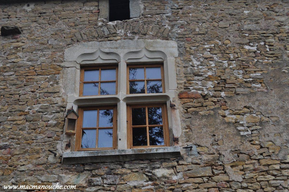 Une fenêtre du château.