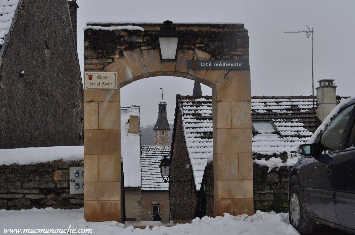 Porte d'entrée de la Cité Médiévale, tout en haut de la Cité.