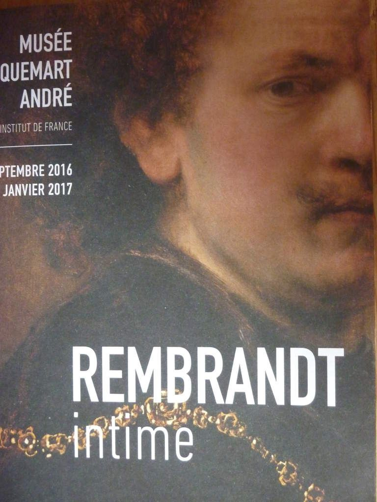 Rembrandt intime, l'expo