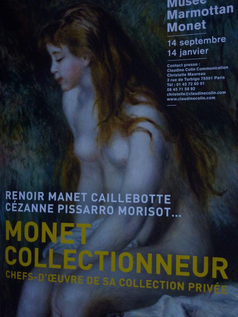 Monet collectionneur, l'expo