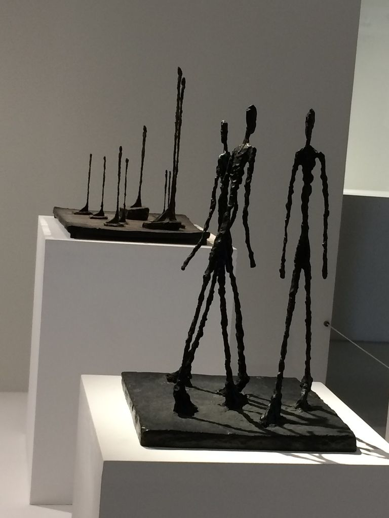 Visiter l'exposition Giacometti