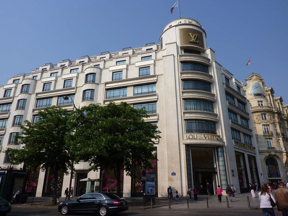 Promenade dimanche sur les Champs-Elysées