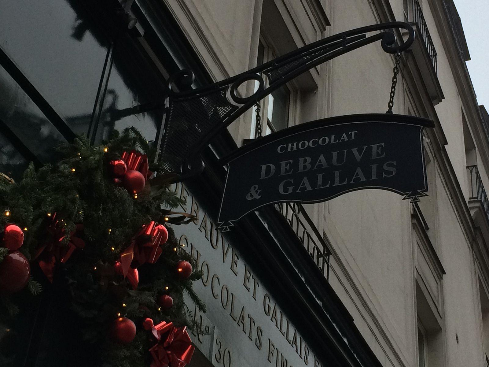 le chocolatier de la rue des Saints pères