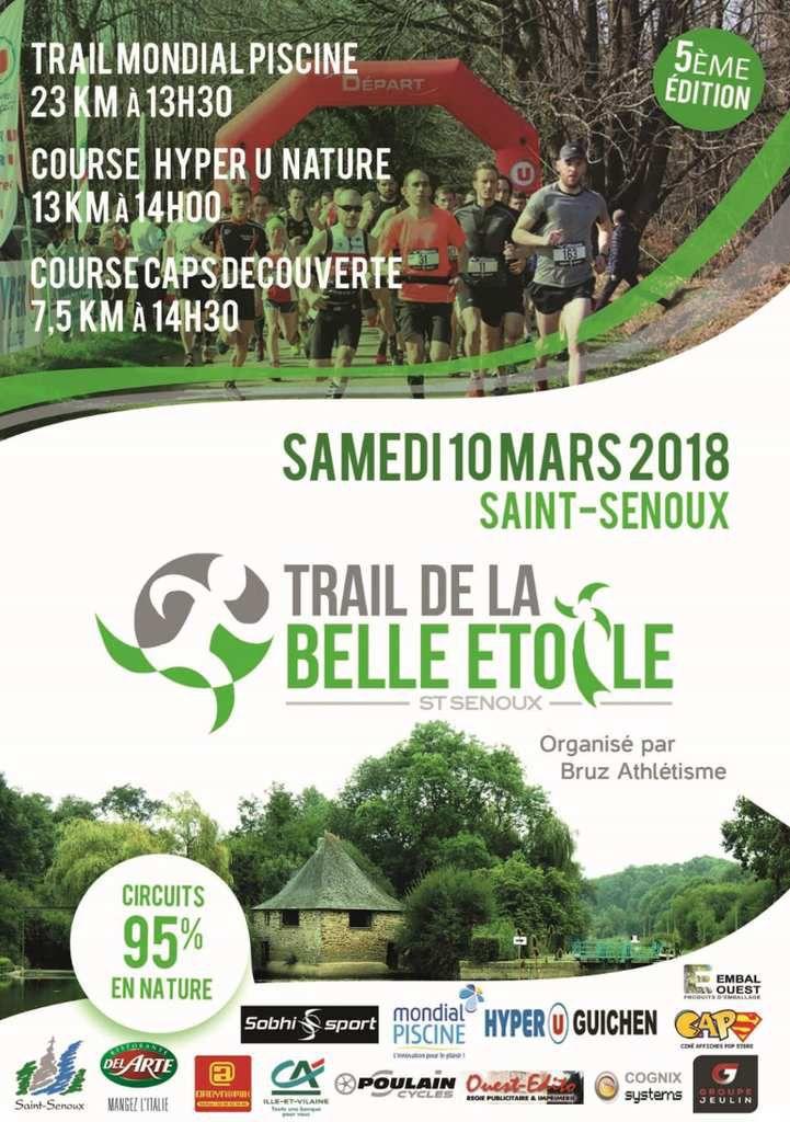 TRAIL DE LA BELLE ETOILE SAINT SENOUX
