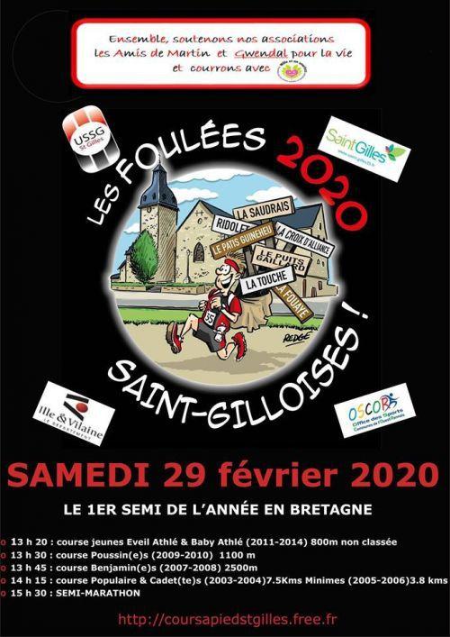 SEMI MARATHON DE SAINT GILLES 2020