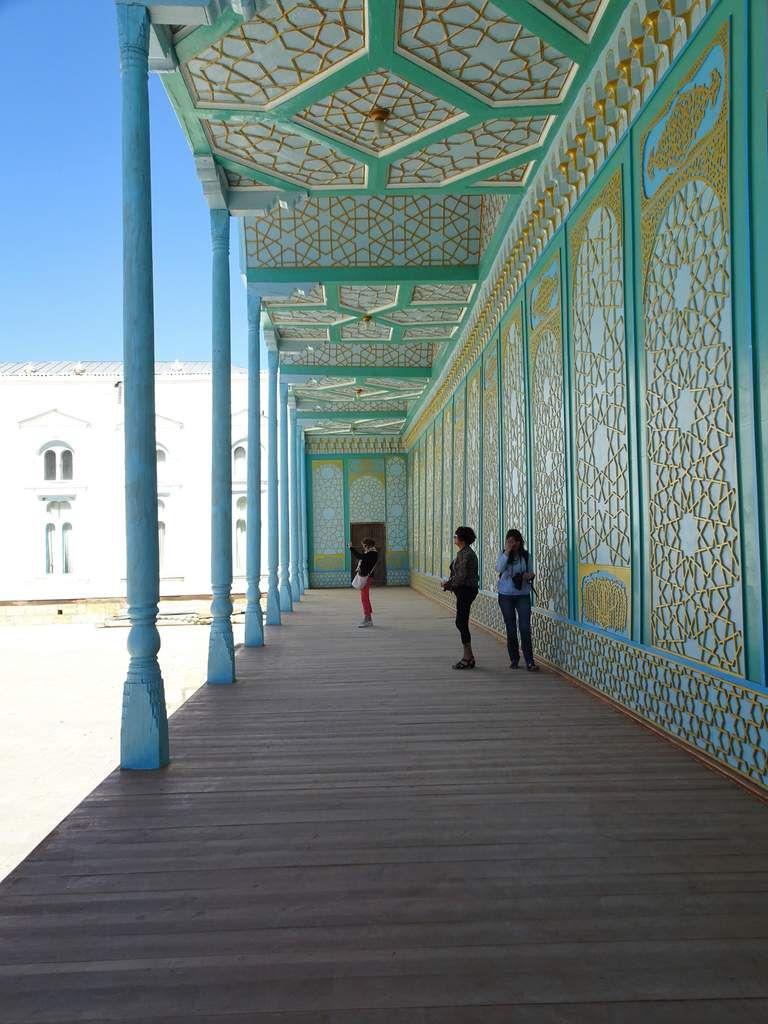 Le mausolée de Bahaouddin Naqshbandi et le palais Sitori-i-Mokhi Khossa