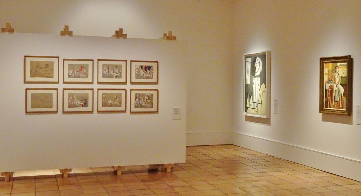 Matisse-Picasso, la comédie du modèle