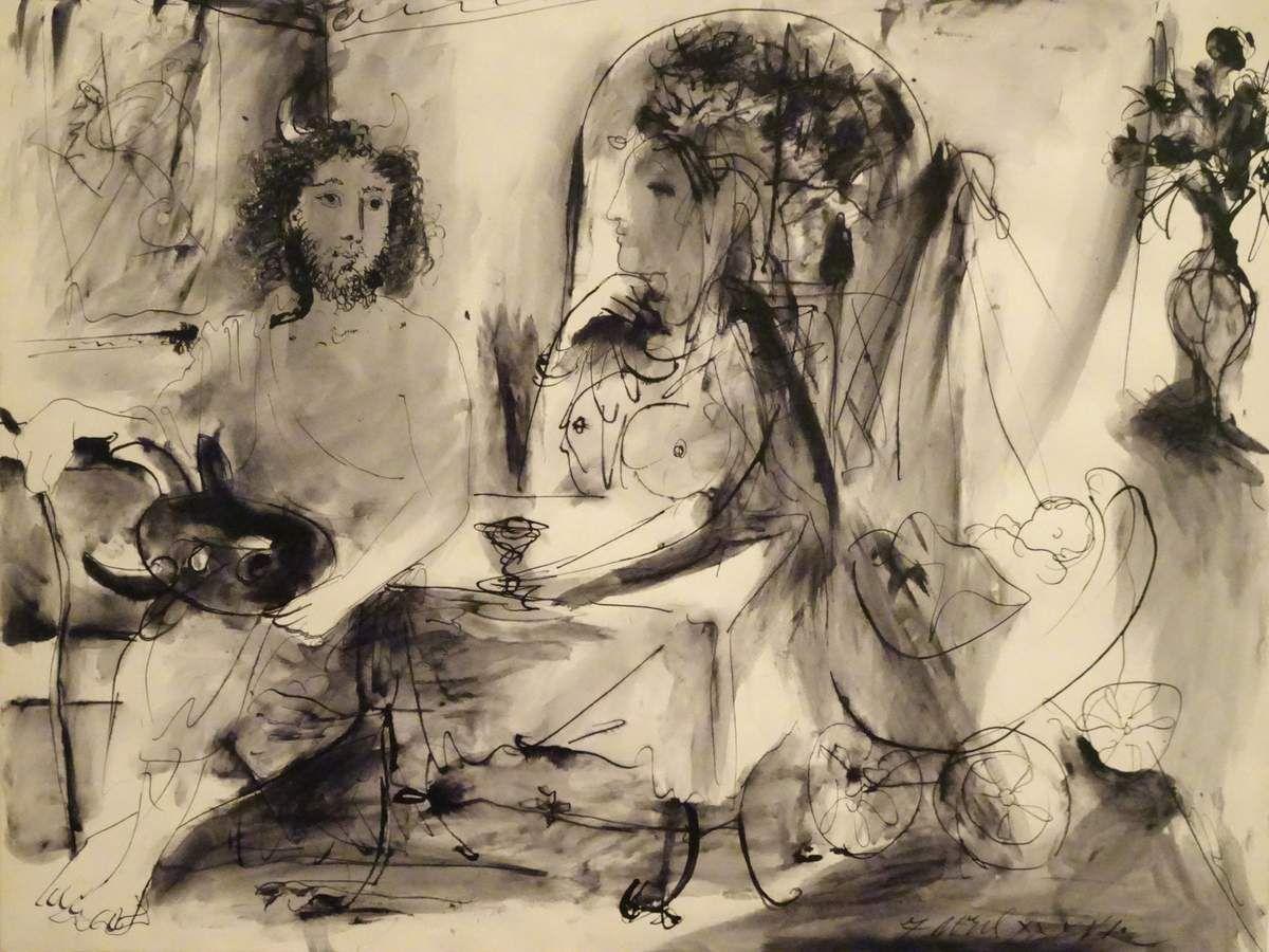 Musée Picasso Antibes : les vacances de M. Pablo