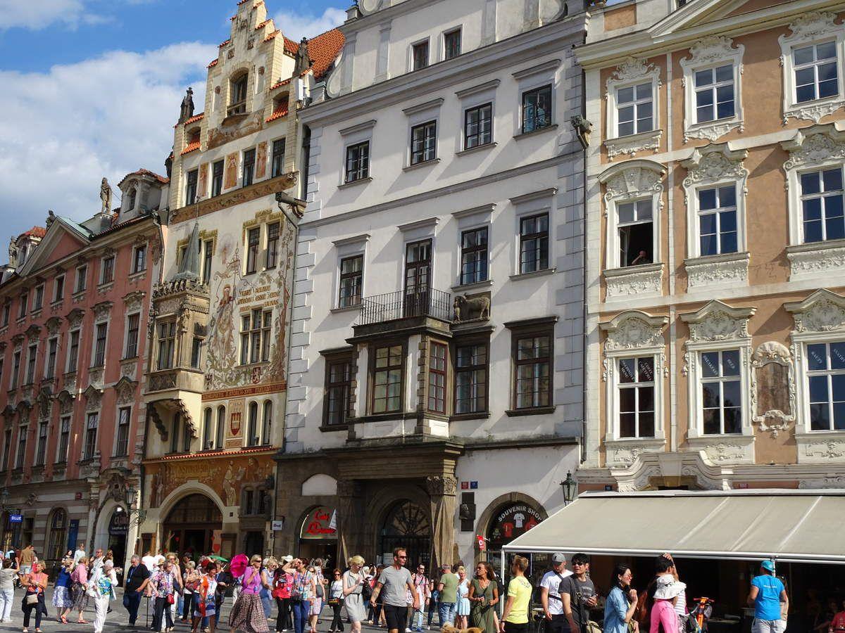De Prague à Dresde