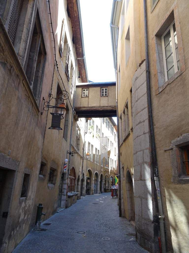 Chambery : ville et château