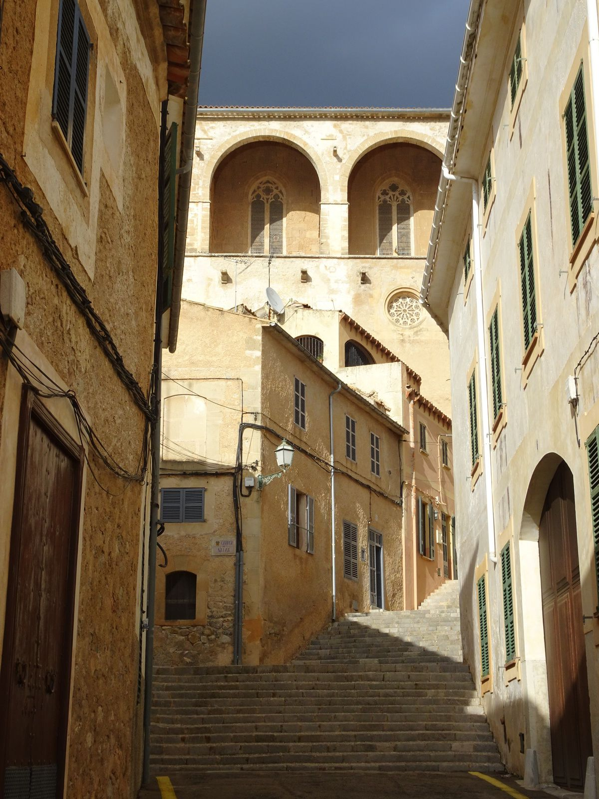 La péninsule de Formentor - la ville d'Arta