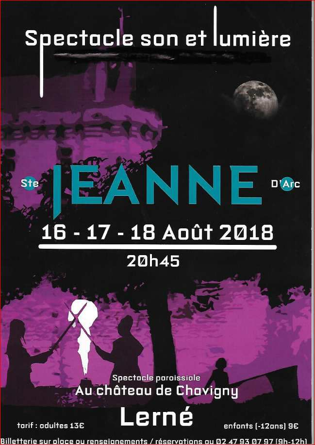 Spectacle Ste Jeanne d'Arc.