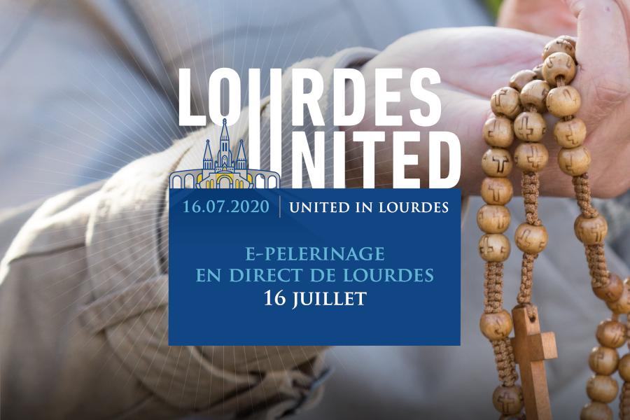 """""""Lourdes United"""". Premier e-pèlerinage mondial !"""
