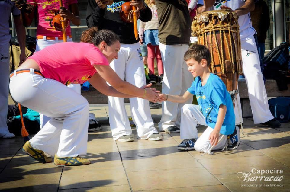 Enfants Capoeiristes - activités/ événements/Action: Projet capoeira et musique dans mon quartier