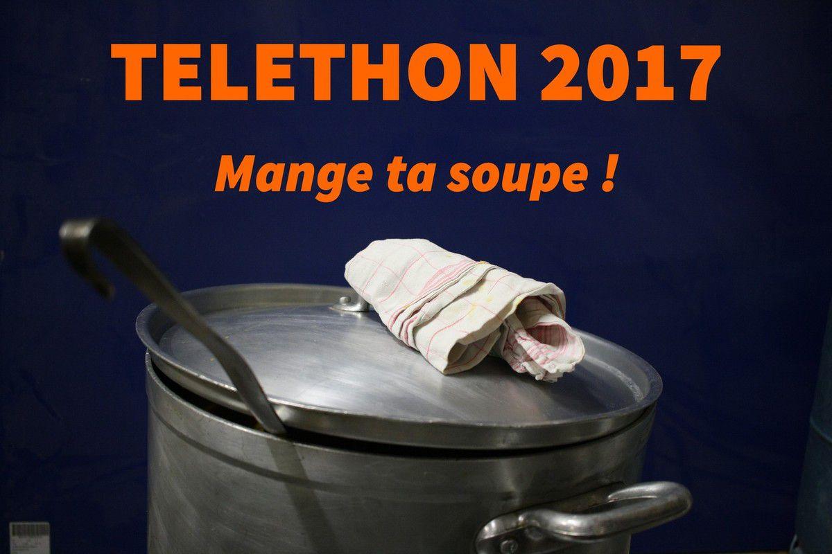 Mange ta soupe ! participe une nouvelle fois au Téléthon