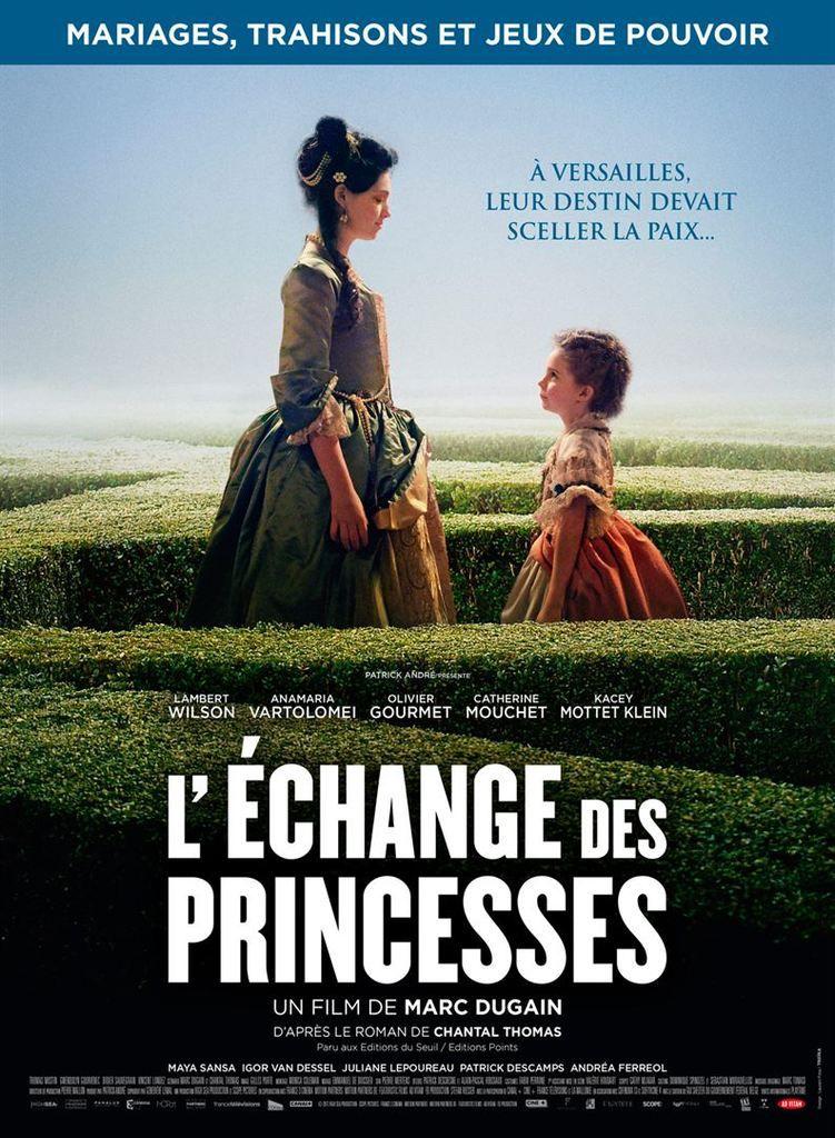 L'ECHANGE DES PRINCESSES - MARC DUGAIN