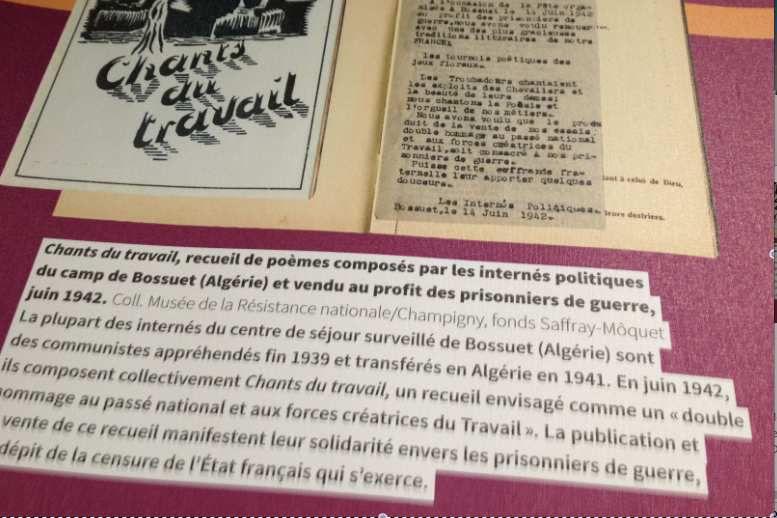 Au sujet des camps d'internement en Algérie en 1940-42