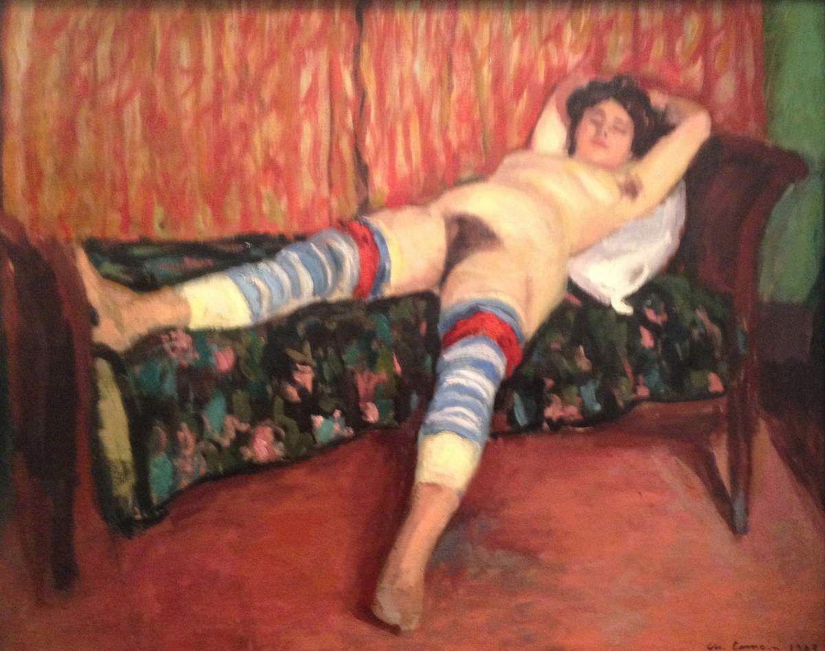 Nu de Charles Camoin, exposé actuellement au Musée Granet à Aix en Provence