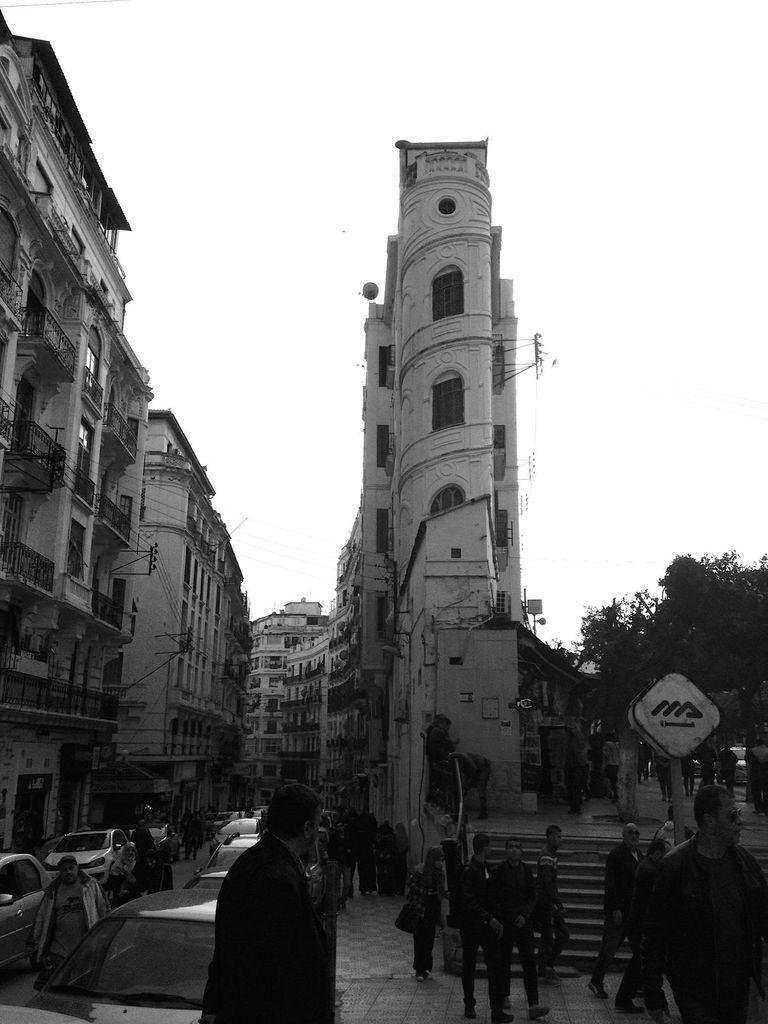 La rue Hamani (ex-Charras) en janvier 2016 Photo JPB
