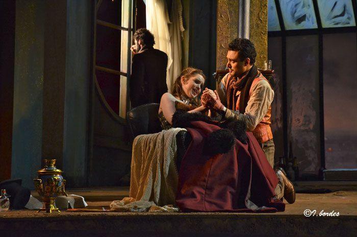Photos originales de l'opéra « LA BOHEME » de PUCCINI à l'Opéra-Théâtre de Metz Métropole- ( Vendredi 29 Sept. Mardi 3 Oct. 2017 à 20H Dimanche 1 Oct. à 15H )