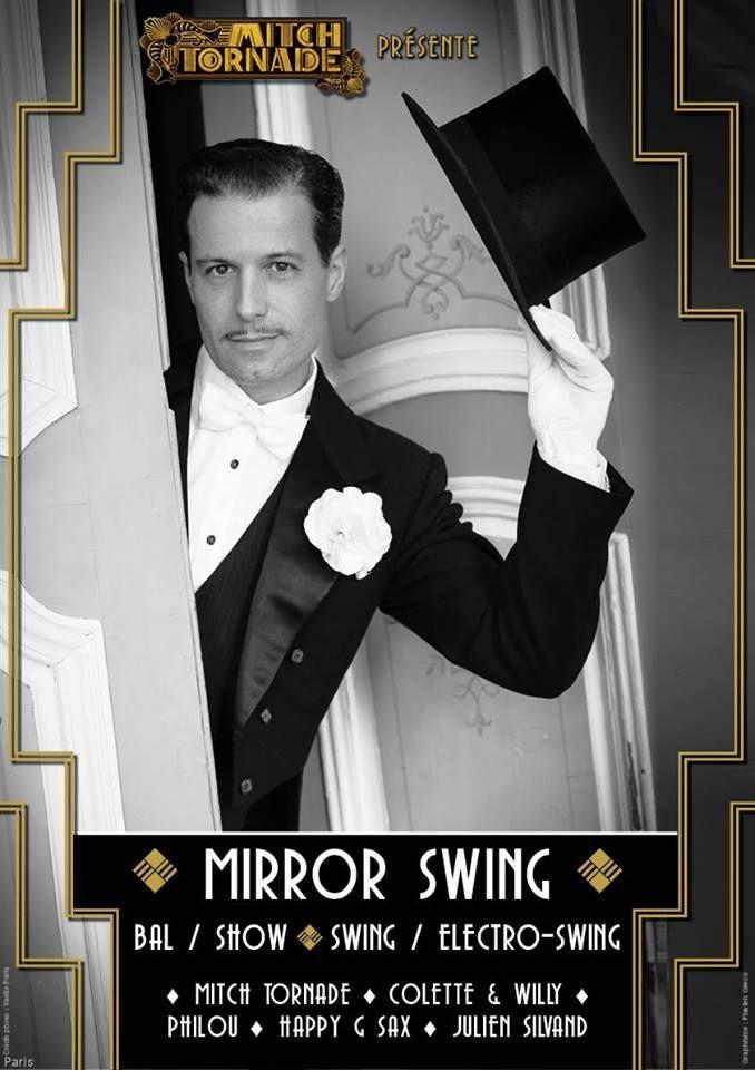 Festif et Original : « MIRROR SWING » Mardi 17 Octobre 2017 - 22h00 aux NJP