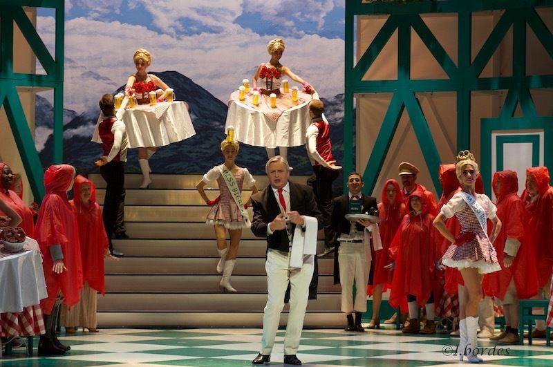 Photos de l'opérette  «L'AUBERGE DU CHEVAL BLANC» - RALPH BENATZKY à  l'Opéra-Théâtre de Metz –à 20h, les jeu. 21, Ven. 22 et Sam. 23 et Dim 31 Déc. 2017  - à 15h, les Mar. 26 Déc 2017 et Lun 1 Janv. 2018