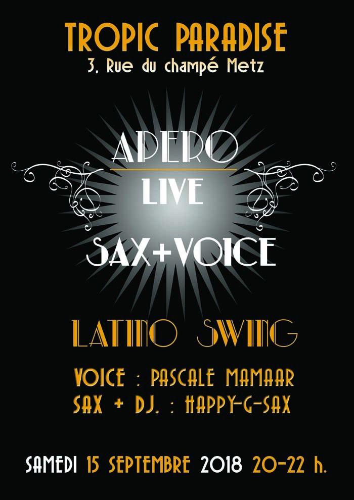 Apéro Latino Vibes, ce Samedi16 Septembre 2018 Musique live au Tropic Paradise à Metz