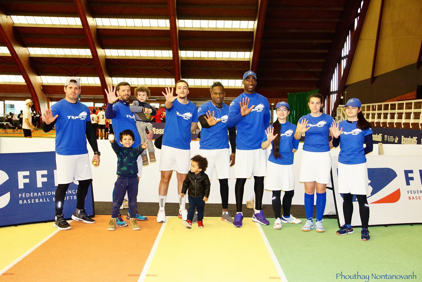 Première participation des Tigers à l'Open de France BASEBALL 5