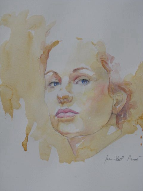 Jean-Paul Pierné aquarelle