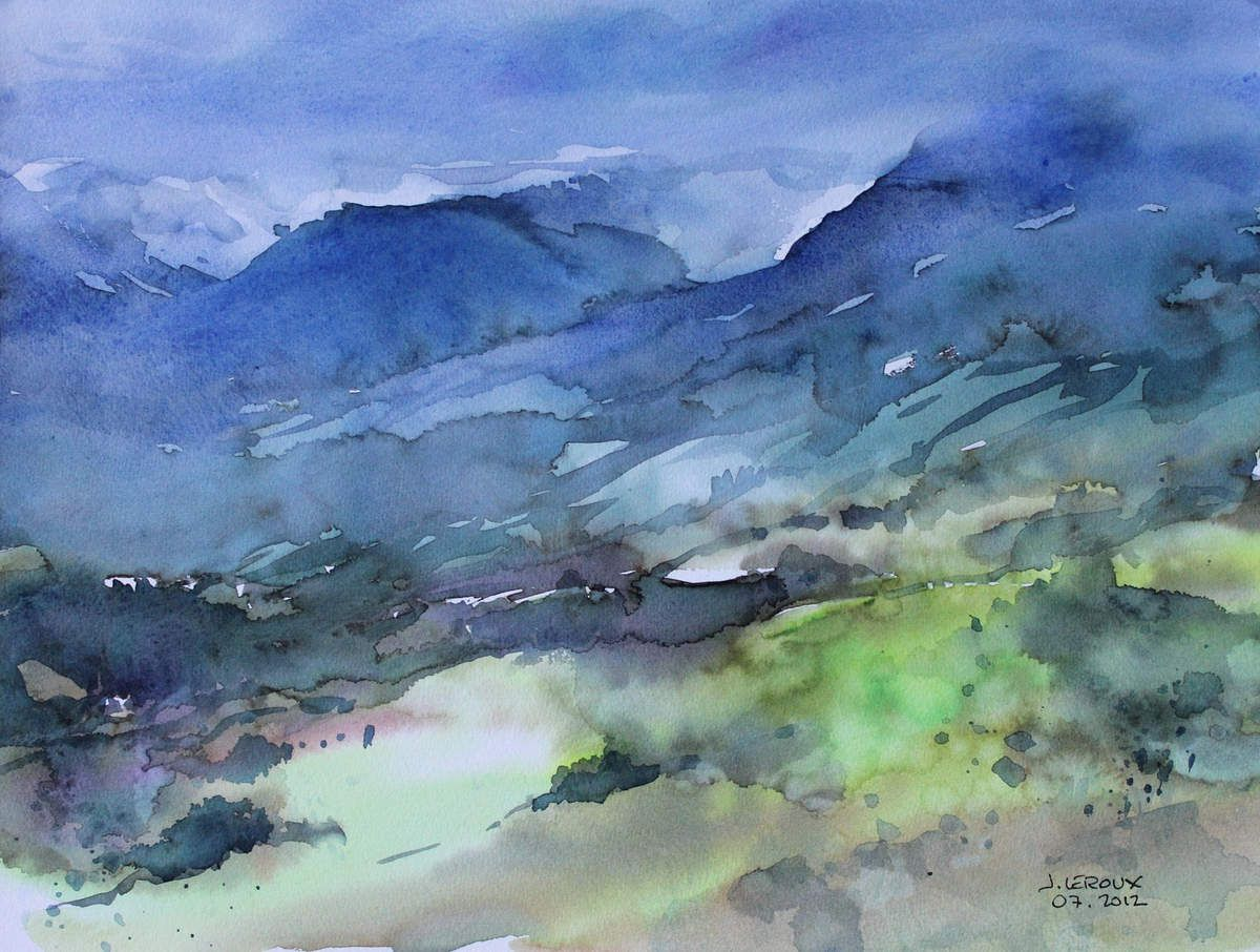 Jacques Leroux aquarelle