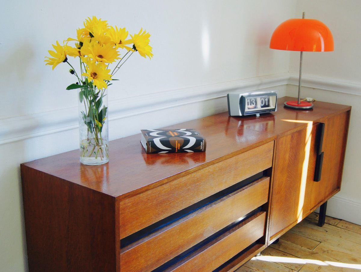 Design Suedois Vintage Fabulous Canape Lit Scandinave Vintage  # Buffet Vintage Suedois