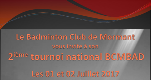 [01 & 02/07/2017] Tournoi de Mormant