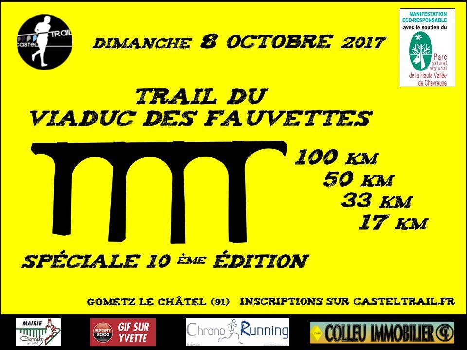 [08/10/2017] Trail du Viaduc des Fauvettes