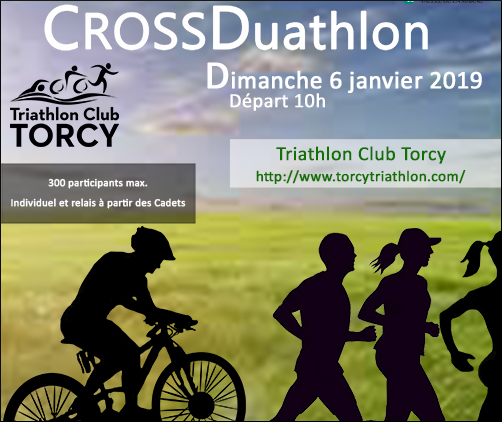 [06/01/2019] Cross-Duathlon de Torcy